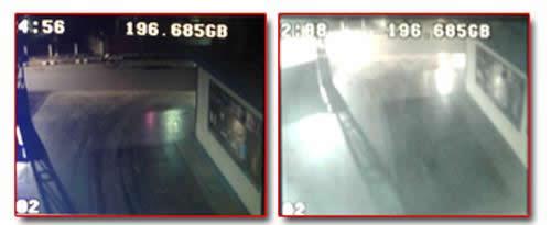 ภาพจากกล้องวงจรปิด CCTV Infrared AVTECH